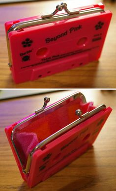 Great cassette Upcycle!