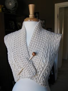 Ravelry: Eyelet Lace Vest pattern by The Knit Knot