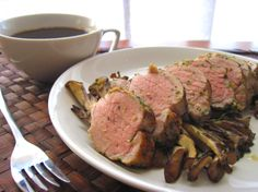 perfectly roasted tenderloin, a cup of coffee, and some classical music is all it takes to have an excellent sunday lunch.