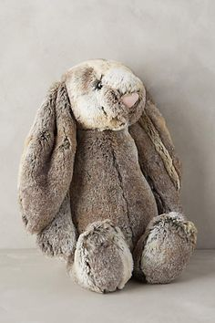 Brigham Bunny - anthropologie.com My baby LOVES this bunny