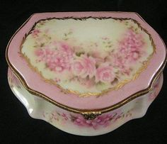 Limoges China Trinket Box- something beautiful and vintage