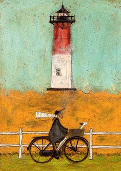 """Riding By the Light"" - Sam Toft"