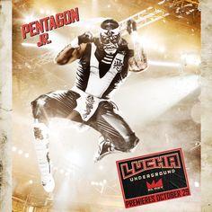 Lucha Underground - Pentagon Jr.