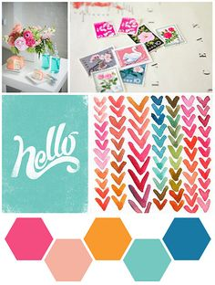➸Palette: Love the bright and happy colors, reminds me of summer:)  1 final by scrappyJedi, via Flickr
