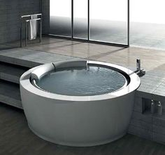 Could also work as a fully sunken tub.