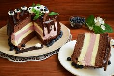 Romanian Desserts, Cake Flavors, Sweets Recipes, Something Sweet, Chocolate Cake, Sweet Treats, Cheesecake, Food And Drink, Ice Cream