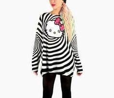 Japan LA x Hello Kitty Sweater: Hypnotic