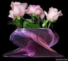 beautibul animation hearts | http://www.allgraphics123.com/pink-glitter-roses/