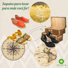 Dicas de calçados para sua viagem de fim  de ano!