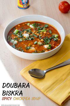 Doubara Biskra - spicy chickpea soup