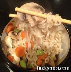 TONS of ramen noodle recipes (not all soup!) Perfect for broke college students like me.