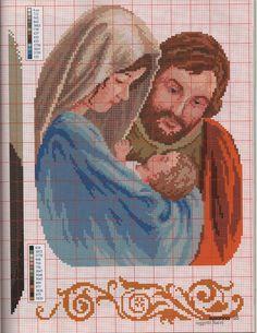 San Giuseppe, Maria e il bambino
