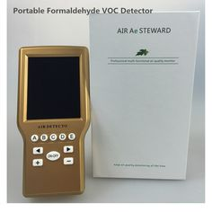 95.00$  Buy now - http://aliy0v.worldwells.pw/go.php?t=32770968595 -  Free shipping  digital formaldehyde TVOC detector for home use, HCHO detector, CH2O monitor, portable formaldehyde gas detector