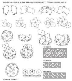 puzzle lights instruction manual diy pinterest lights origami and craft. Black Bedroom Furniture Sets. Home Design Ideas
