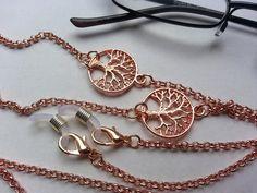 #Brillenkette rosegold Baum DQ von bigXel auf DaWanda.com