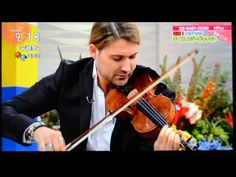 DAVID GARRETT ASAICH OMG, this interview!!! Girls....he is so absolutely adorable and gorgeous! And he winks at the camerea!!! I20140613  ディビットギャレット あさイチ - YouTube