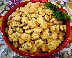 Dill Ranch Snack Crackers Recipe - Food.com