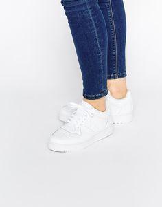 3f1f26db6e86b Image 1 of adidas Orginals White Leather Attitude Revive Sneakers Adidas  Nmd, Tênis Branco,