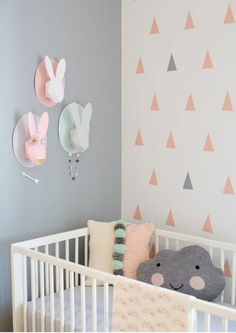 Perfect wand dekoration babyzimmer wanddekoration ideen