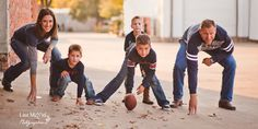 click the pic to see photography inspiration for Family pictures: posing, boys, football, fun Texas, houston, Dallas