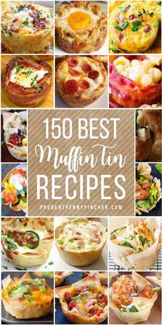 Breakfast Appetizers, Healthy Breakfast Recipes, Appetizer Recipes, Dinner Recipes, Healthy Recipes, Soup Appetizers, Easter Recipes, Healthy Food, Muffin Pan Recipes