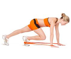 More resistance band ab workouts