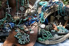 """My Aunt Stacey makes beautiful, unique pieces of jewelry. <3 Her brand is called """"Love Tokens""""."""