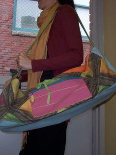 colorful yoga mat bag