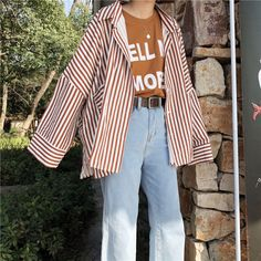 New fashion trends and outfits for teens and young women in spring and summer 2019 Korean Street Fashion, Korea Fashion, Asian Fashion, Look Fashion, 90s Fashion, Fashion Trends, Outfits For Teens, New Outfits, Casual Outfits