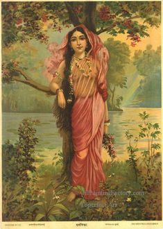 4-VASANTHIKA-Raja-Ravi-Varma.jpg (480×673)