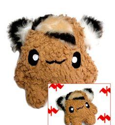 Fluse Kawaii Plush Monster Potato Zottelchen von Fluse-123 auf DaWanda.com