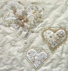 I ❤ crazy quilting, beading & embroidery . . . Problem Child-Lynn Schoeffler ~By Pinyon Creek Stitchin'