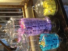 Peeps centerpiece for Easter