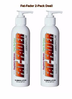 FAT-FADER ADVANCED CELLULITE FIRMING LOTION 2.5% AMINOPHYLLINE & RASPBERRY #NutraScientificLabs