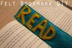 Felt Bookmarks! Join us Sept 11, 2013 from 6-8 PM.
