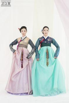 [한국의상 백옥수] 2012년 7월 웨딩21 한복화보 (여름의 춤) : 네이버 블로그