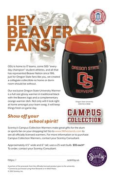 OSU Scentsy - have it, love it!