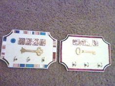 key hook frame
