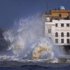 Storm in Sevastopol
