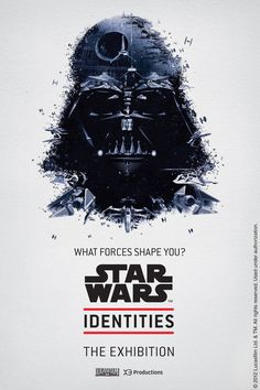 BleuBlancRouge - Posters for a Star Wars Exhibition Montréal. Darth Vader