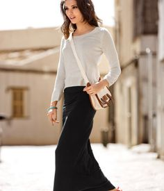 A LONG SKIRT the must have of the whole year (next winter included!)