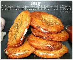 ~Cheesy Garlic Bread Hand Pies!