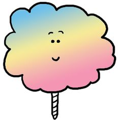 free cotton candy clip art for personal use cotton candy rh pinterest com free clipart candy bars free clipart candy bar wrappers