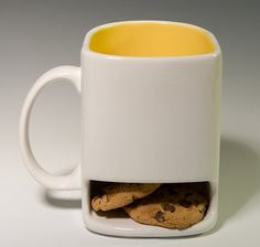 These may be under my tree this year for my boys! White and yellow dunk mug 22.00 USD