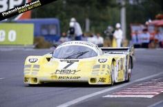in 1985 same car   Joest won Le Mans in 1984