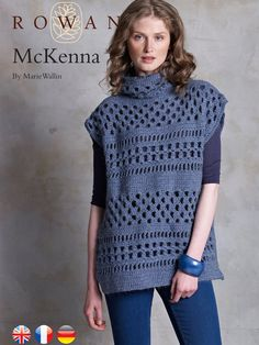 McKenna Openwork Tunic By Marie Wallin - Free Crochet Pattern With Website Registration - (knitrowan)