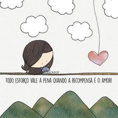 <p></p><p>Todo esforço vale a pena quando a recompensa é o amor. </p>