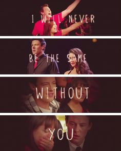 Finn and Rachel:My meant to be When it's meant to be you go kind of crazy Meant to be You forget your name When it's meant to be It's destiny callin' And nothing ever will be the same!