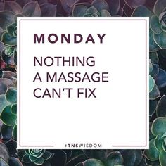 Image result for monday massage