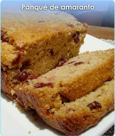 PANQUÉ DE AMARANTO Bread Recipes, Cake Recipes, Mexican Bread, All Bran, Deli Food, Pan Dulce, Gluten Free Cakes, Foods With Gluten, Healthy Desserts